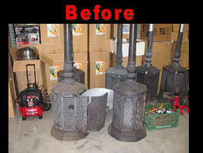 Patio Heater Repairs :: AZ Patio Heaters and Replacement Parts