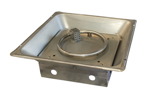 Natural Gas Fire Pit Burner. NG-GSF-BURNER - Natural Gas Fire Pit Burner :: Fire Pit Parts :: AZ Patio Heaters