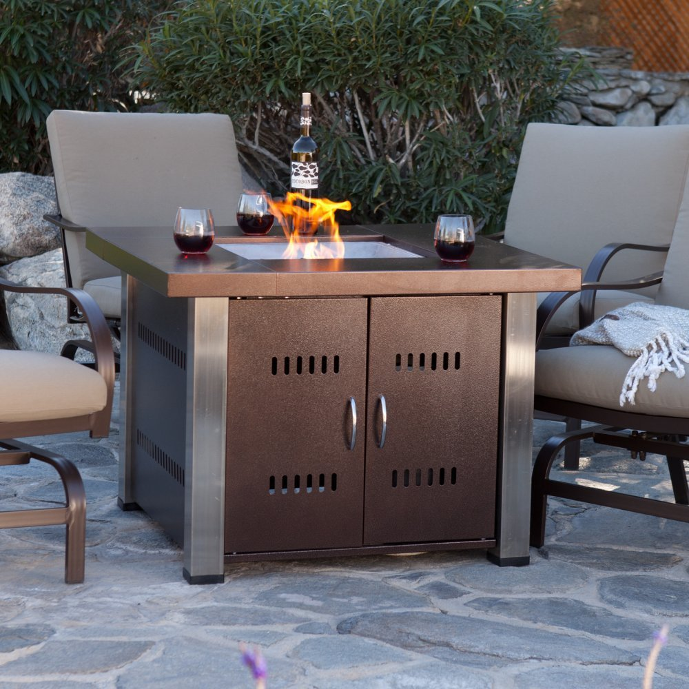 Plug Amp Play Natural Gas Fire Pit Burner Ready To Use