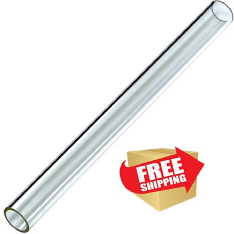 """Hiland Residential Quartz Glass Tube Replacement  49.5"""" Tall"""