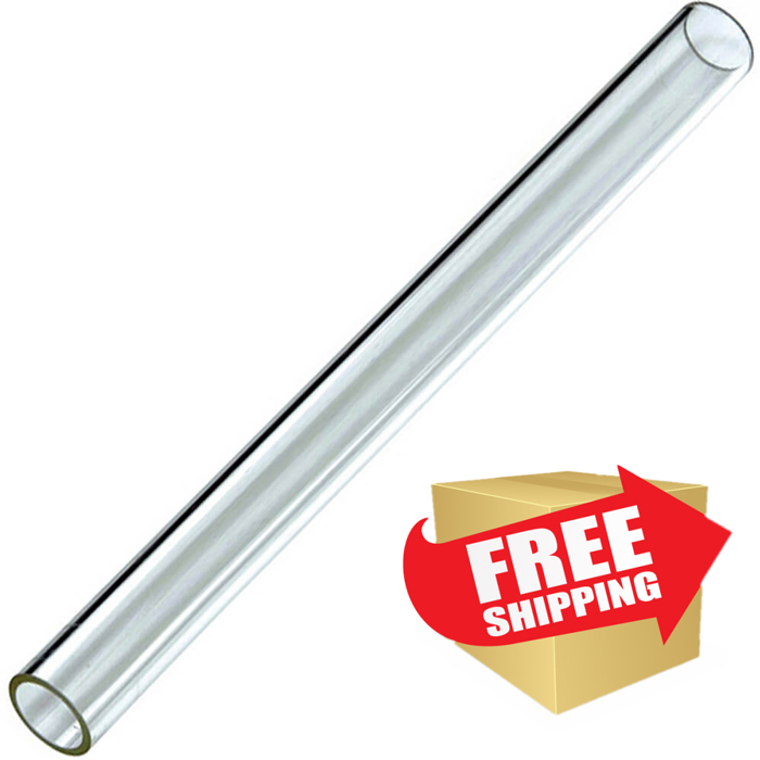 "Hiland Commercial Quartz Glass Tube Replacement - 51.5"" Tall"