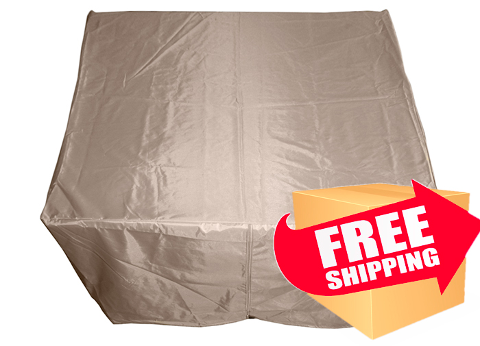 Hiland Heavy Duty Waterproof Square Propane Fire Pit Cover