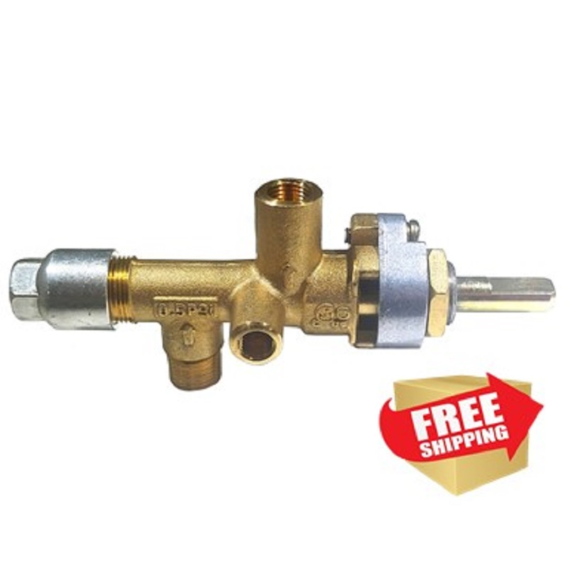 Patio Heater Gas Regulator Problems: Hiland Main Control Valve Female Outlet :: Tall Patio