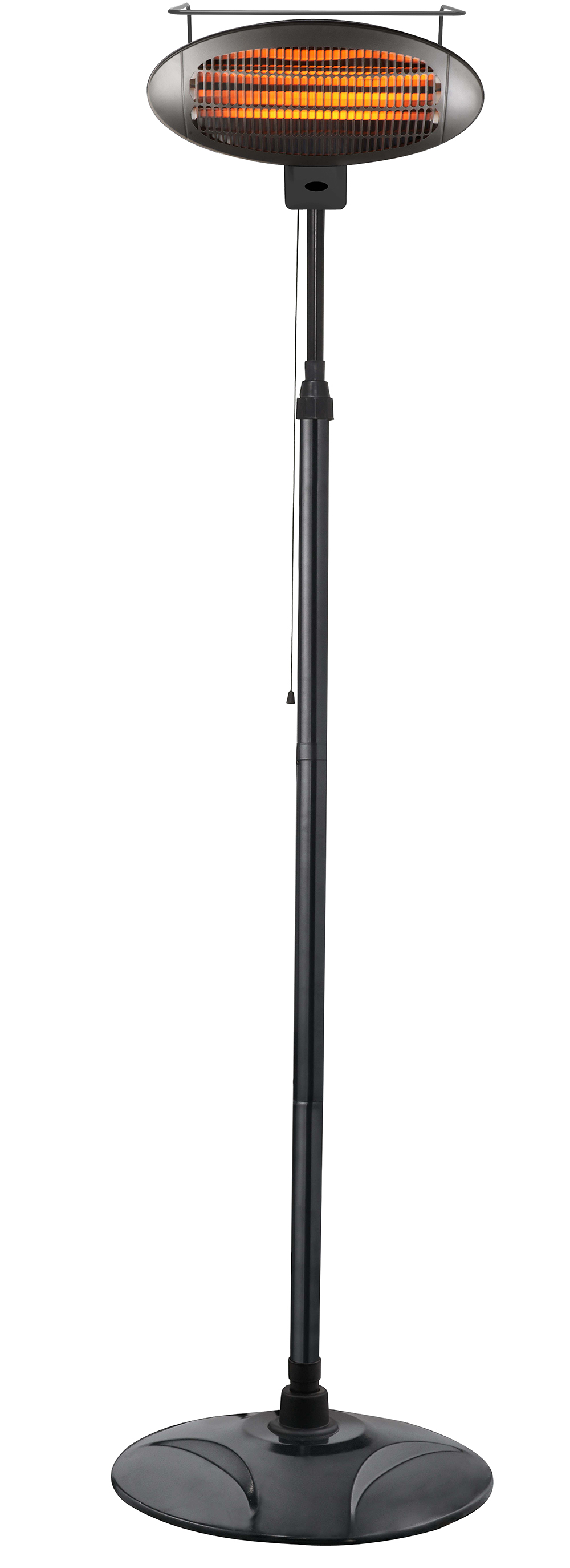 Freestanding Electric Heater in Black