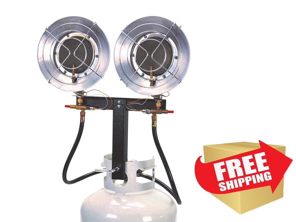 Double Burner Tank Top Heater Shop Heaters Az Patio